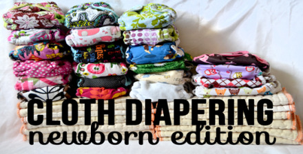 Even after a year and a half, there were still corners of the cloth diaper world I had yet to venture to but cloth diapering a newborn has exposed me to a few of those uncharted territories. See how we navigated the newborn cloth diaper experience.