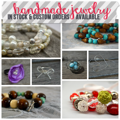Handmade Jewelry from Homespun Aesthetic