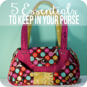 5 Essential Items to Keep in your Purse